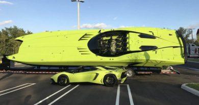 На eBay продается редкий Lamborghini с «ламбокатером»